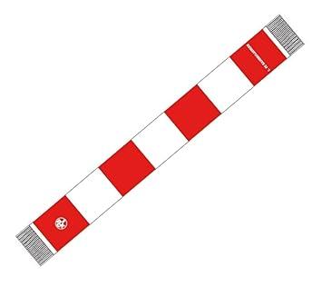 Kaiserslautern Fan Schal Blockschal Rot-Weiss Fan Scarf Westkurve