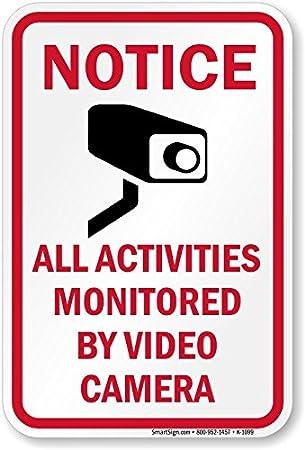 Amazon.com: Símbolo de aviso todas las actividades Monitored ...