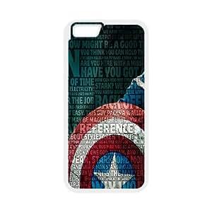 Generic Case Captain America For iPhone 6 Plus 5.5 Inch G7Y6658434