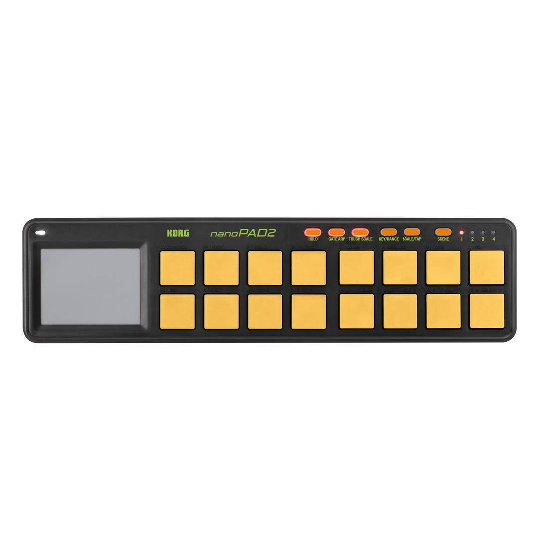 Korg NanoPAD2 - Orange Green Limited Edition