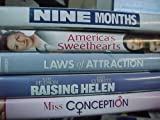 Nine Months , America's Sweethearts, Laws of Attraction, Raising Helen , Miss Conception : Romantic Comedy 5 Pack Collection : Girls Night At the Movies Set
