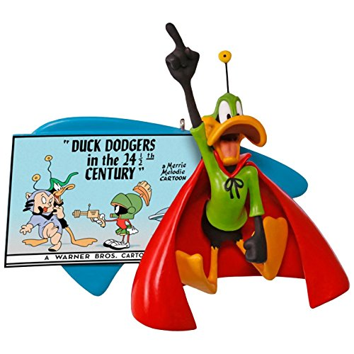 Hallmark Looney Tunes (Hallmark Keepsake 2017 LOONEY TUNES Duck Dodgers in the 24 1/2th Century DAFFY DUCK Christmas Ornament)