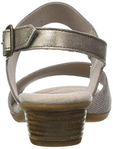 Gabor Signore Comodità Sandalo Aperto Con Beige (biancheria / Mutaro 15)