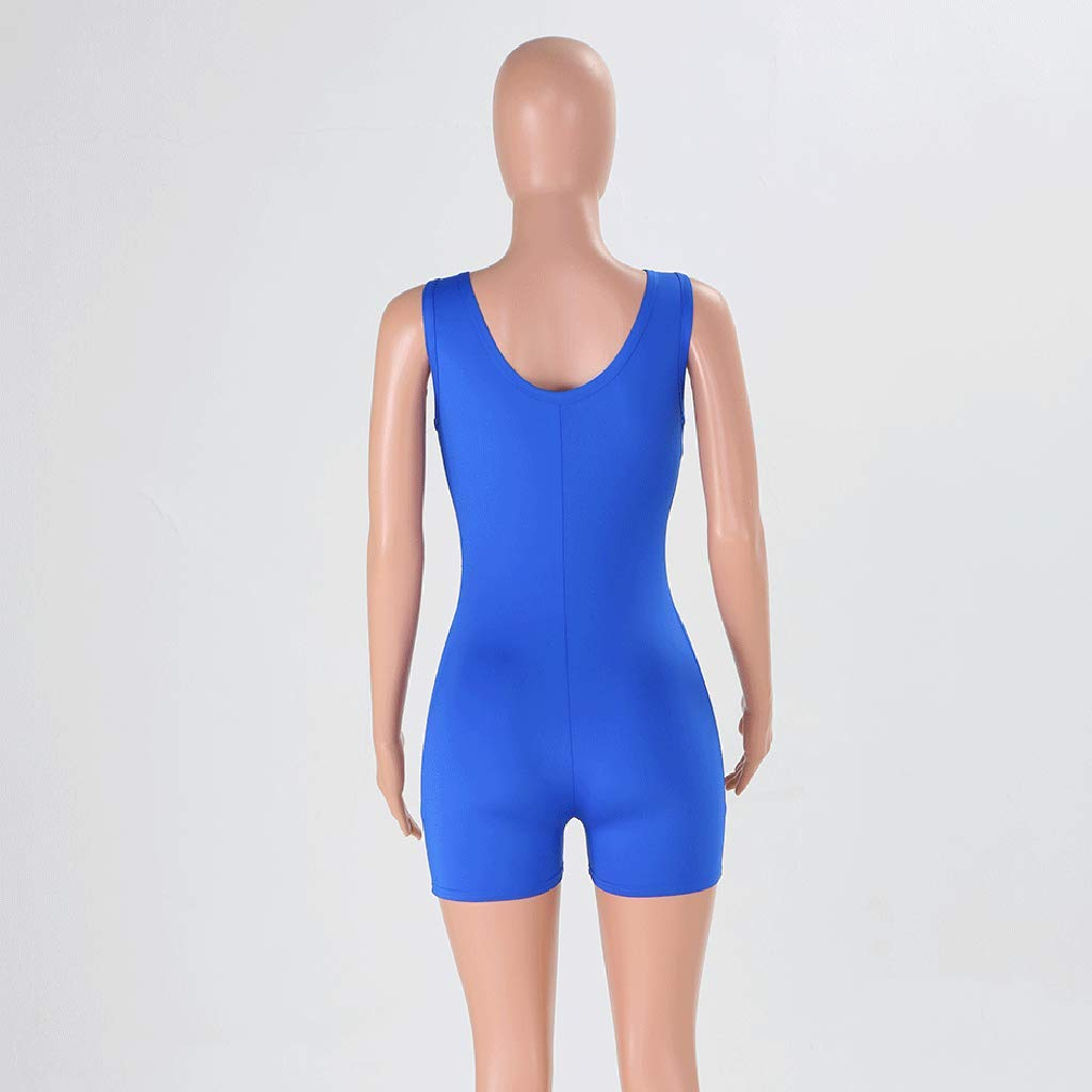yiqianzhaobiao/_jumpsuits Jumpsuits for Women Sleeveless Cami Bodycon Shorts Rompers Gym Swimwear Jumpsuit Yoga Overalls YQZB