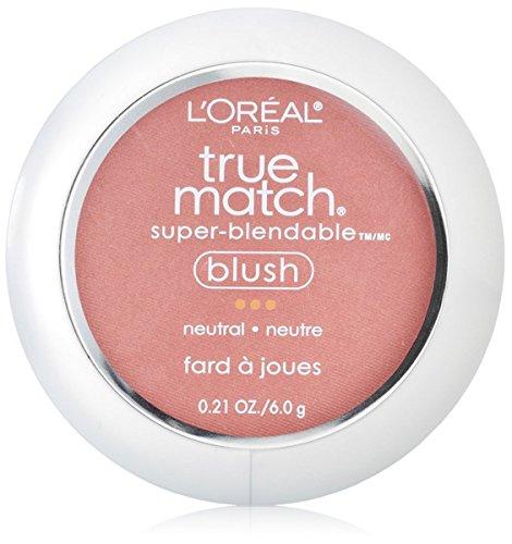L'Oreal Paris True Match Super-Blendable Blush, Apricot Kiss 0.21 oz (Pack of 2)