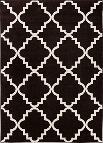 Golden-Yellow-2×4-23-x-311-Area-Rug-Trellis-Morrocan-Modern-Geometric-Wavy-Lines-Living-Dining-Room-Bedroom-Kitchen-Carpet-Contemporary-Soft-Plush-Quality