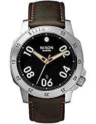 Nixon Ranger 40 Leather Black / Brown Stainless Steel Analog watch