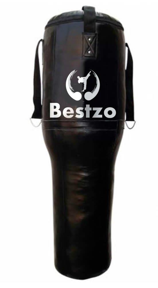 bestzo MMA Punching Punching Bag 47 – 円柱形状Pound/床Striking MMA – 合成leather-black-unfilled 47 inch Synthetic Leather Black B01M0K0LZP, ヨネヤマ 聞香庵:4e2f04f5 --- capela.dominiotemporario.com