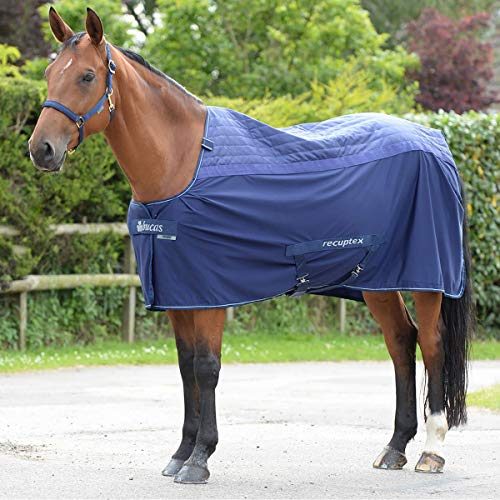 Bucas Recuptex Therapy Rug 5ft9 Navy Silver