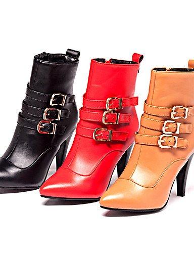 5 5 A Brown Zapatos Cn43 Uk8 Mujer La Trabajo De us9 Semicuero 5 Vestido 10 Xzz negro Y Oficina Uk7 Tacón Botas us10 Puntiagudos Marrón Eu41 Cono Cn42 Casual Moda 8 Brown Eu42 5 Rqp4x0nS