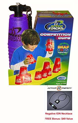 new-metallic-purple-speed-stacks-competition-cups-with-bonus-active-energy-power-and-balance-necklac