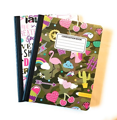 Camo Cute Composition Notebooks - Set of 2 (Camo) by JOT