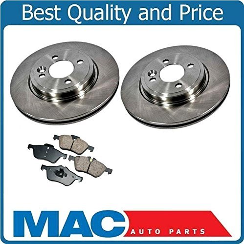 Mac Auto Parts 21267 Mini Cooper (2) Front Brake Disc Rotors & Pads 276MM To / Call Check Info - 276 Mm Front Disc