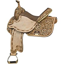Tex Tan Floral Barrel Saddle