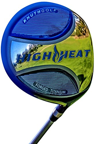 Knuth Golf High Heat Driver (Right Hand, Graphite Fujikura Pro 63g, Regular, 9.5 degrees) -  HH04