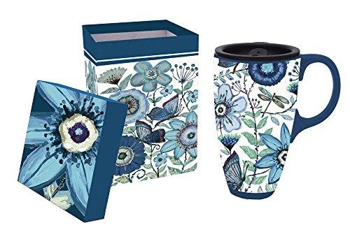 17oz ceramic coffee mug