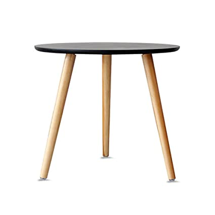 sneakers for cheap 309db 75d58 D&L Wood Simple Round Side table,Living room Sofa table ...