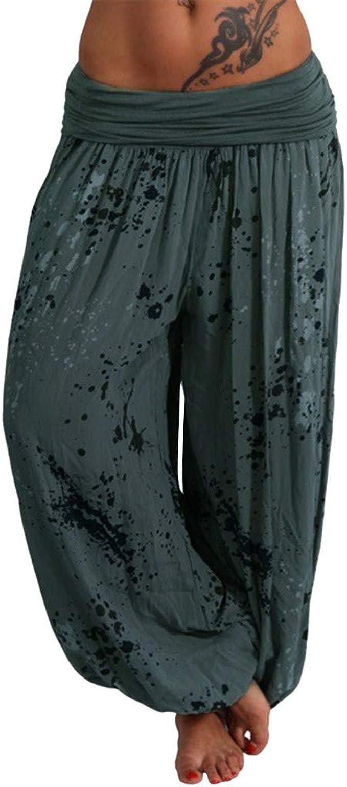 Amazon.com: Pantalones de yoga para mujer de talla grande ...