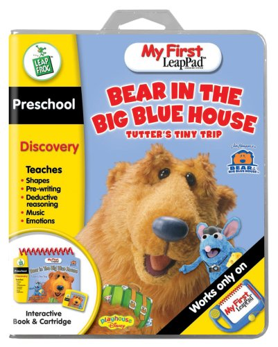 apPad Educational Book: Bear in the Big Blue House - Tutter's Tiny Trip ()