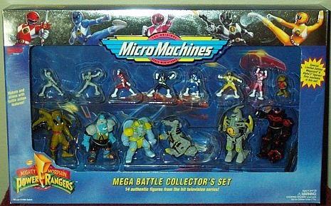 Galoob Mega Battle Collector's Set Mighty Morphin Power R...