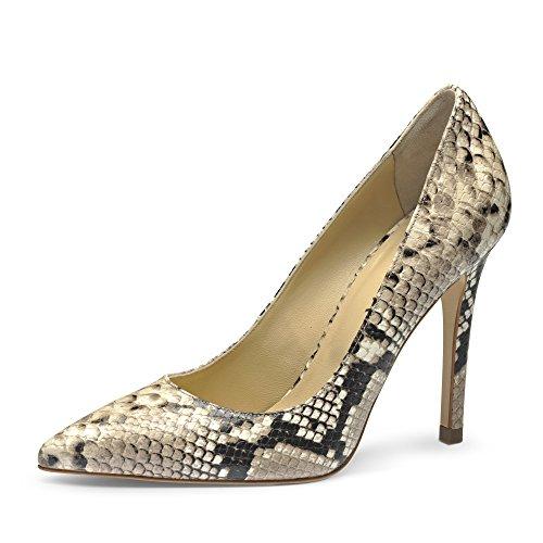 Evita Shoes - Zapatos de vestir de Piel para mujer Marrón - Fango