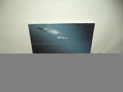 amazon com 09 2009 kia rio owners manual book guide 4679 automotive rh amazon com 2009 kia rio lx owners manual kia rio 2009 repair manual