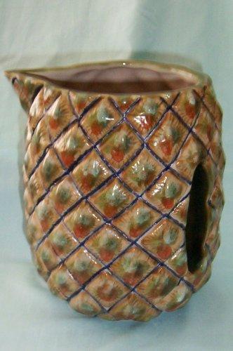 (Louisville Stoneware Beverage Pitcher w/ Recessed Handle)