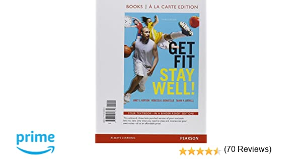 Get Fit, Stay Well!, Books a la Carte Plus MasteringHealth with ...