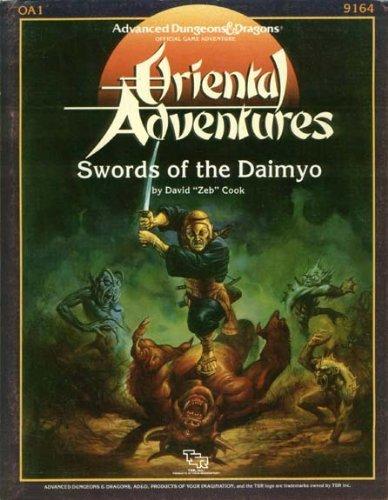 Swords of the Daimyo Module OA1 (Oriental Adventures)
