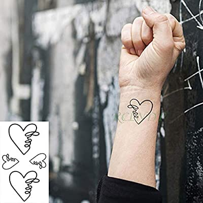 15 Piezas de Pegatinas de Tatuaje a Prueba de Agua Pegatinas de ...