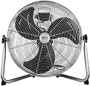 AVANT - Ventilador de Suelo con dirección de Aire Regulable. 2 Velocidades. 140W - 50Cm: Amazon.es: Hogar