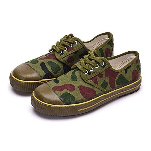Dschungel Tarnung Gelbe Hochwertige Schuhe Style Plastik Pla Chinesische Befreiung Armee XPXHfnZ1