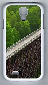 Viaduct PC Hard Case Cover For Samsung Galaxy S4 SIV I9500 Case and Cover White