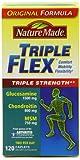 Nature Made Triple Flex, Glucosamine 1500 mg, Chondroitin 800 mg, MSM 750 mg, (240-Caplets)