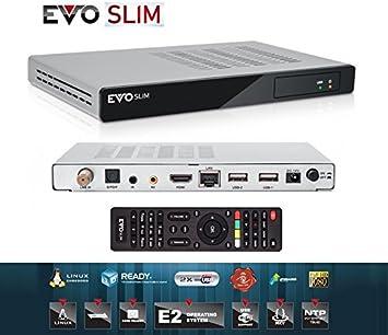 Evo Slim S2 Satélite 750 MHz Dual Core, IPTV, Enigma 2 ...