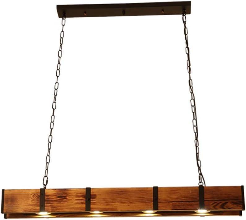 Granja de Madera Metal iluminación de la lámpara, Isla luz ...