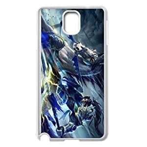Samsung Galaxy Note 3 White phone case XinZhao league of legends LOL8048285