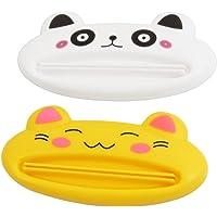 Yuloen Plástico Panda Gato Pasta de Dientes Crema