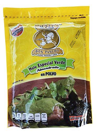 Mole Don Pacho Verde Almendrado (Green Mexican Mole Sauce)