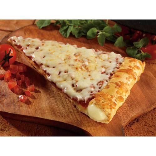 Conagra The Max Stuffed Crust Cheese Pizza Slice, 5.75 Ounce - 72 per case.