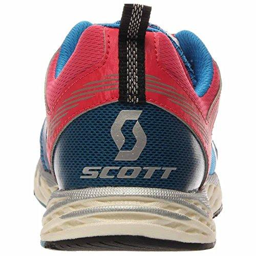 Scarpa Da Corsa Blu Sintetica Scott Mk4 Donna Tinta Unita Blu / Rosa