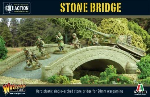 Stone Bridge, Bolt Action / Hail Caesar Addition For 28mm Wargaming Miniatures by Bolt Action
