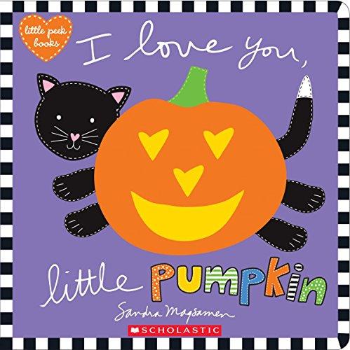 I Love You, Little Pumpkin (Little Peek Books) Black Cat Pumpkins