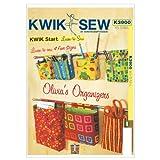Kwik Sew K3900 Olivias Organizers Sewing Pattern, Size XS-S-M-L