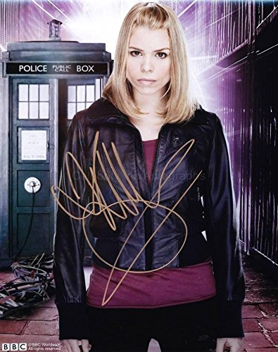 BILLIE PIPER as Rose Tyler - Doctor Who GENUINE AUTOGRAPH from Celebrity Ink