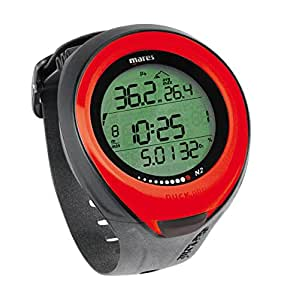Mares Puck Pro Colour Diving Computer - Red/RD by Mares