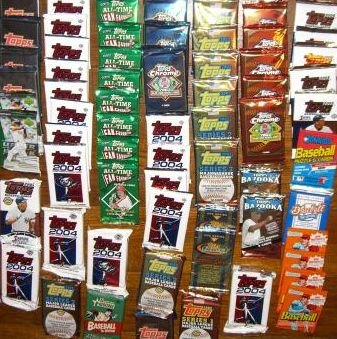 - Rookies HQ 50 Original Unopened Packs of New & Vintage Baseball Cards (1986-2010) PLUS Pack 100 Soft Sleeves