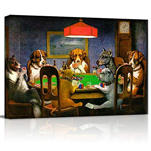 dogs playing cards picture - 9