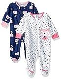 Gerber Baby Girls' 2-Pack Sleep 'N Play, Fox, Newborn