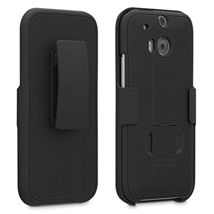 htc with kickstand. htc m8 one 2 puregear kickstand case holster combo - rubberized with and belt htc